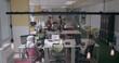 People in a modern office working