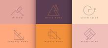 Six Minimal Brand Logo Style C...