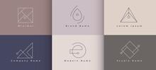 Minimal Logo Designs Set Of Si...