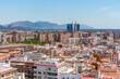 Aerial view of Murcia, Spain