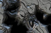 Futuristic Abstract Metal Art