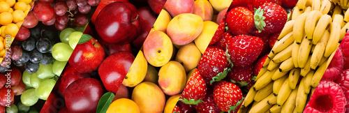 Obraz mix fruits tray - fototapety do salonu