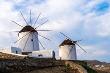Wind Mills From Tha Famous Isl...