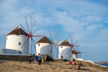 Wind Mills From Tha Famous Isl...