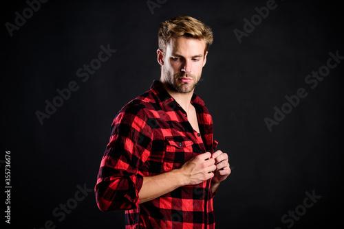 Fotografía Hipster black background