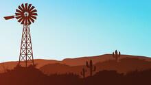 State Of Nevada, Mojave Desert...