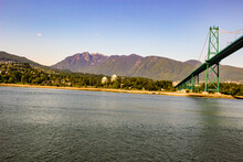 Lions Bridge. In Vancouver In ...