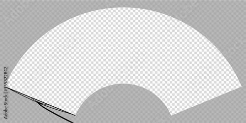 Papel de parede car wiper on windscreen or windshield vector illustration