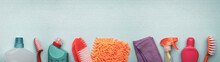 Supplies For Spring Cleaning O...