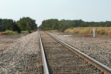 Railroad Track.Railroad Tracks...