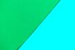 Leinwandbild Motiv Green geometric background. Bright background for designer