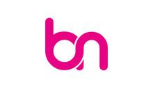 Bn Or Nb Letter Initial Logo D...