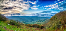 Blue Ridge Mountains Near Moun...
