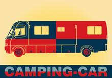 Pop Art. Camping-Car