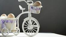 Easter Eggs In A Miniature Bike