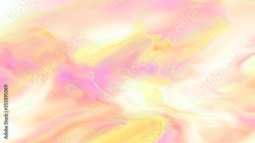 Watercolor paint effect Canvas Print