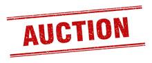 Auction Stamp. Auction Label. ...