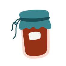 Jar With Preserve Free Form St...