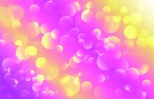 Bokeh Background. Soft Light E...