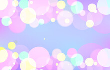 Bokeh Luxury Background. Soft Light Effect Wallpaper. Abstract Background Bokeh Blurred. Shiny Bokeh Light Effect. Vector Illustration.