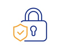 Security Lock Line Icon. Cyber...