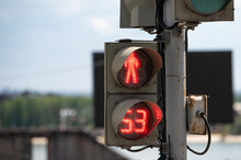 Traffic Light With A Timer For...