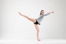 Female Dancer In A Classical B...