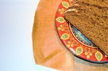 Slices Of Homemade Rye Bread O...
