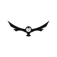 Abstract Owl Logo Icon Design