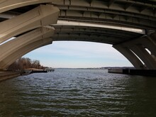 Potomac River Underneath The W...