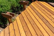 Cedar Deck Reconstruction With...