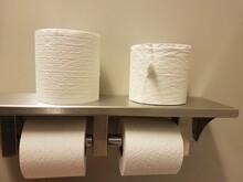Metal Toilet Paper Holder In B...