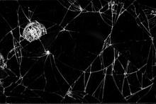 Broken Smartphone Screen Black...