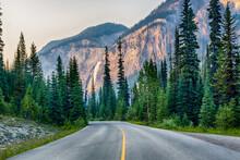 Beautiful Road To Waterfall. L...
