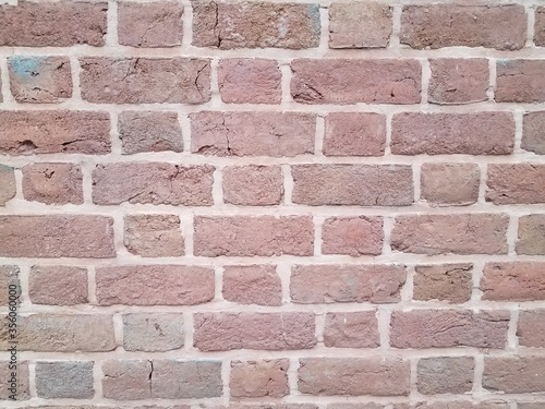 red brick wall or masonry or background