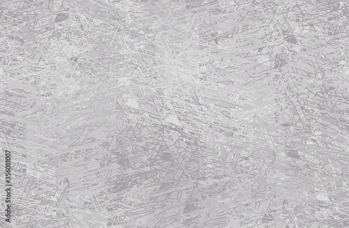 Grey grunge background. Seamless abstract texture. A chaotic repeating pattern. Pop art handmade art
