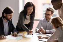 Five Diverse Business Workgrou...