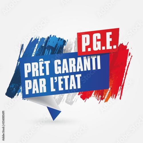 PGE - prêt garanti par l'état Canvas Print