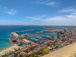 Alicante from above