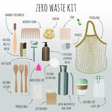 Zero Waste Concept. Items That...