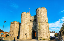 Westgate Towers In Canterbury, England