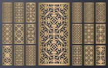 Laser Cut Ornamental Panels Se...