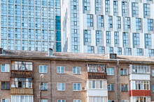 Old And New Residential Buildings As An Example Of Social Stratification Between Rich And Poor