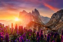 Amazing Dolomites Mountains La...