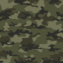 Military Camo Seamless Patter...