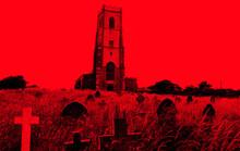 Haunted Church Amongst Graveyard