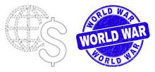 Web Mesh Global Business Icon ...