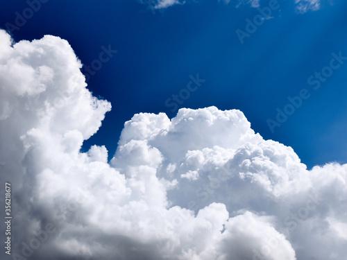 Chmury cumulusy Canvas