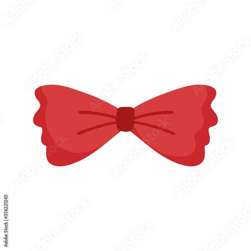 Fototapeta men bow tie accessory fashion vintage classic isolated design icon obraz