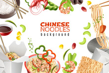 Noodles Realistic Background F...